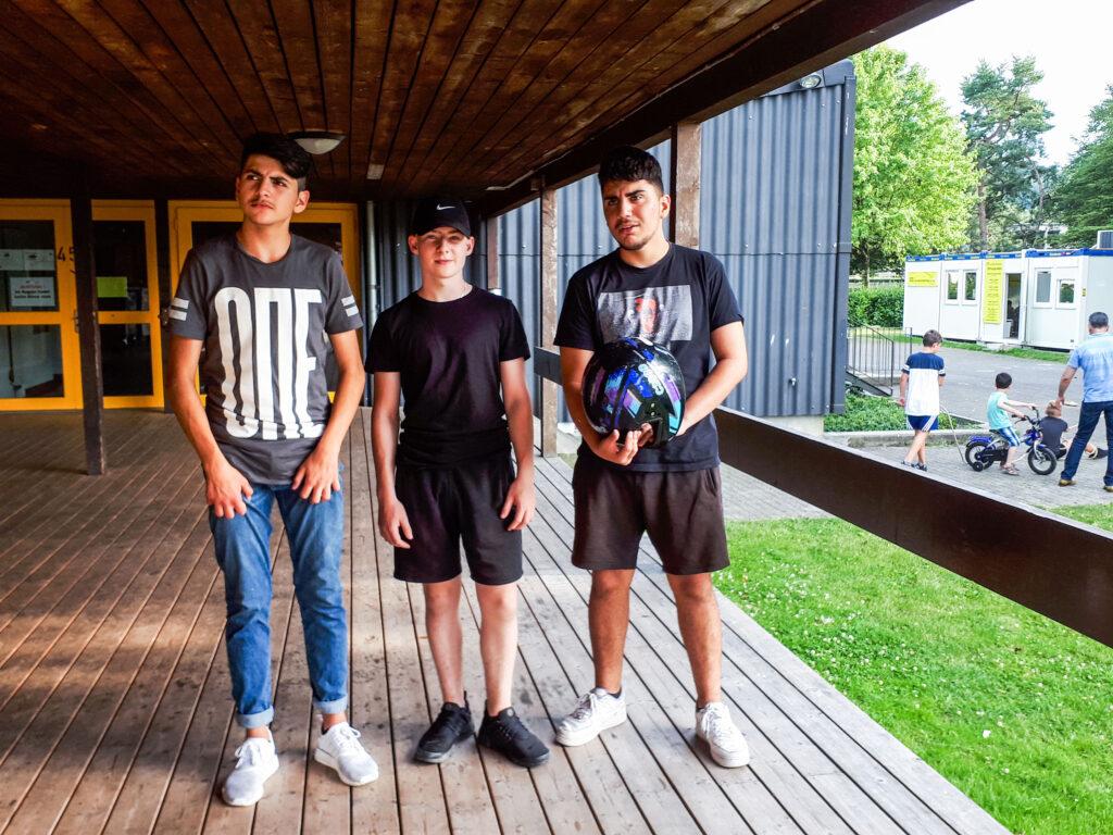 Bild Jungs vom Jugendtreff