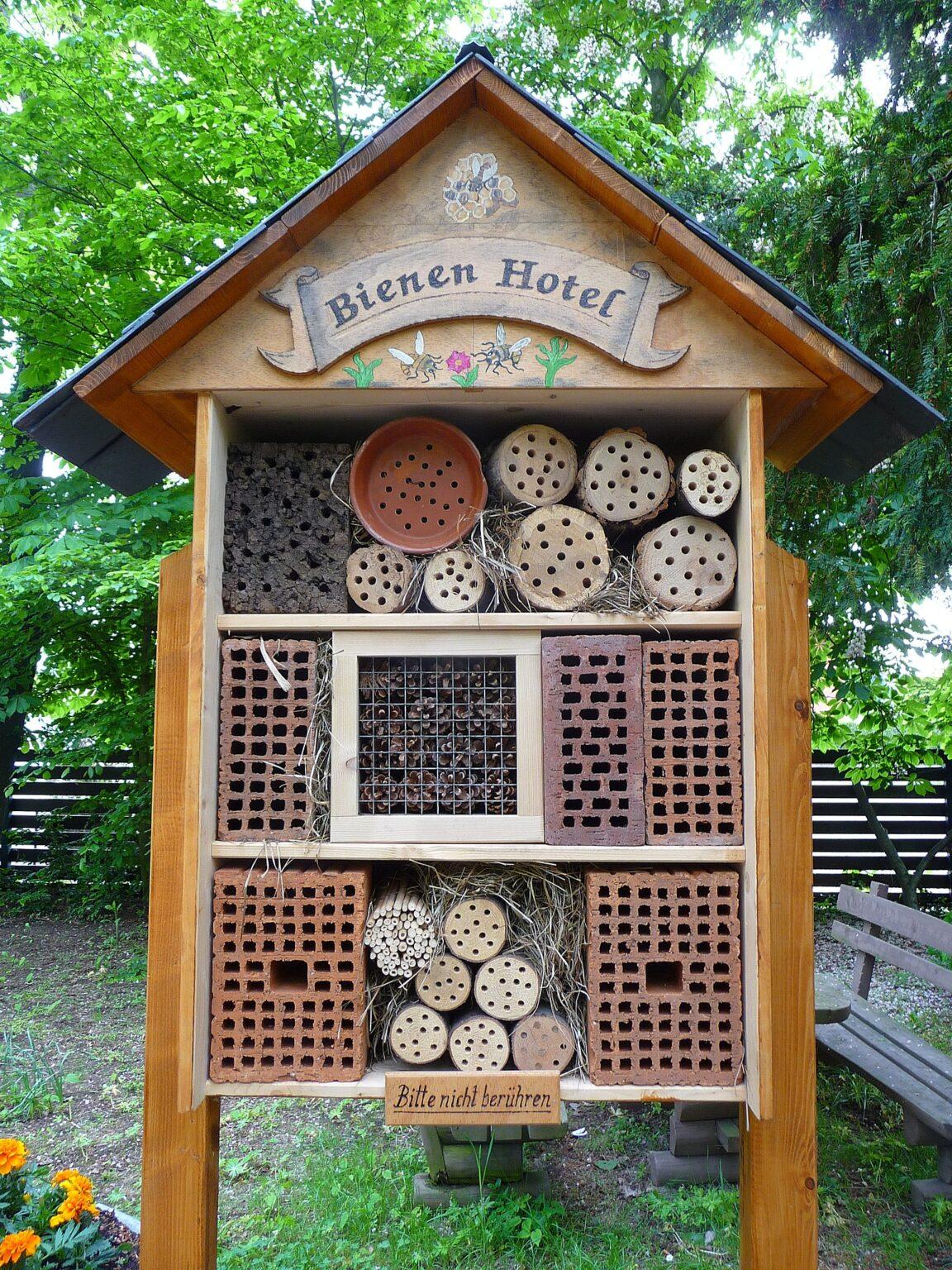 Bienen Hotel in Plankstadt