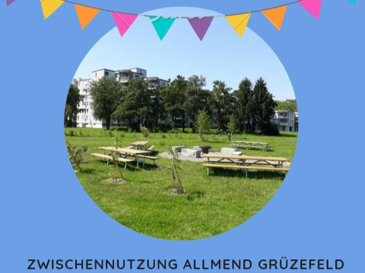 Grillstelle Einweihung Allmend Grüzefeld